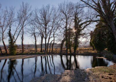 Il lago Aiso a Bevagna